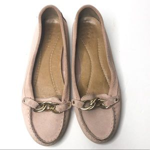 J. Crew Blush Pink Loafers
